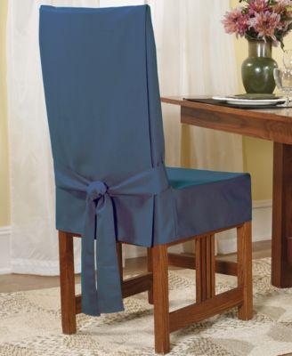 Чехол для стула короткий