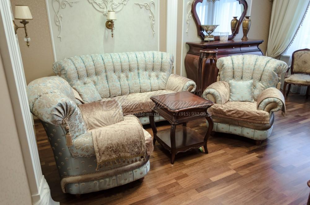 Чехлы на мебель, сидушки на диван
