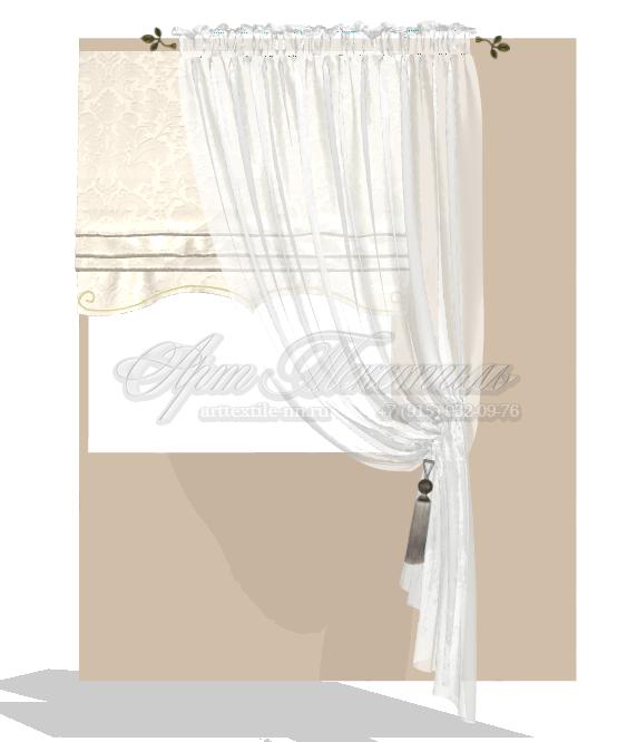 Эскиз римской шторы в гостиную св светло-бежевых тонах