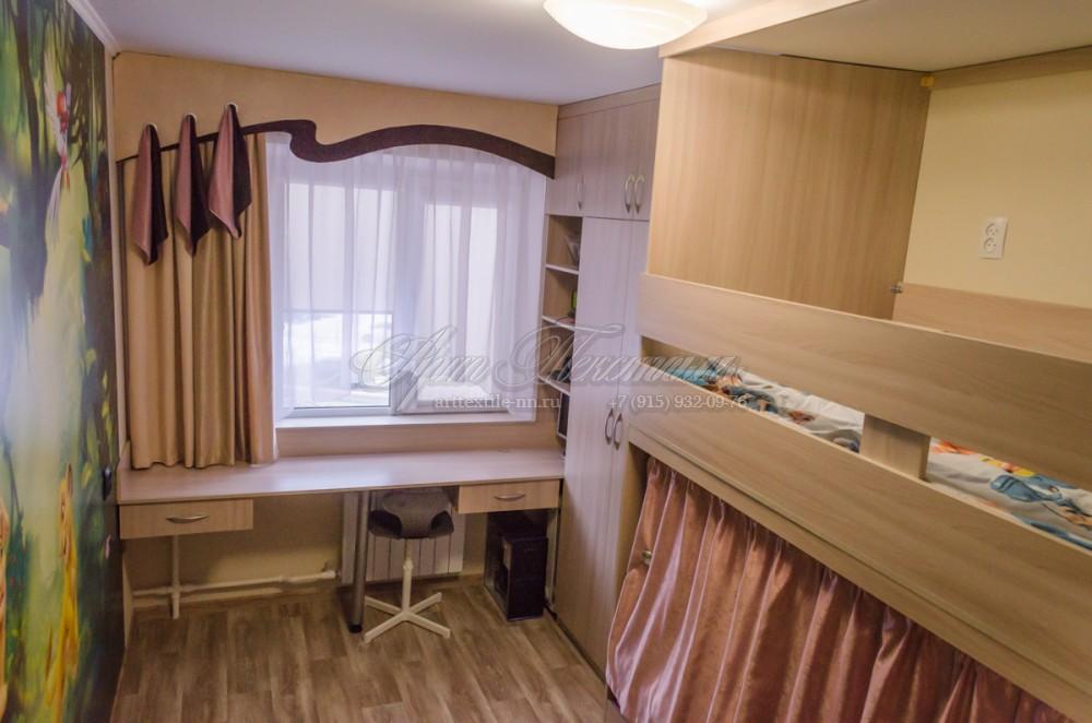 Шторы для детской комнаты в бежевых тонахШторы для детской комнаты в бежевых тонах