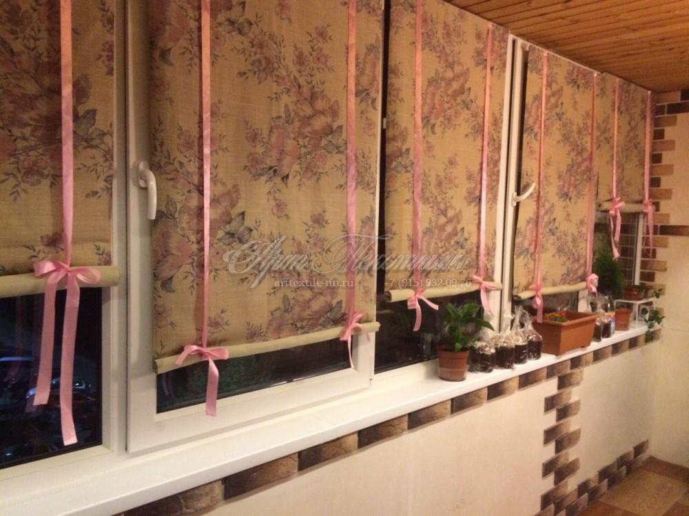 Шторы на подвязках