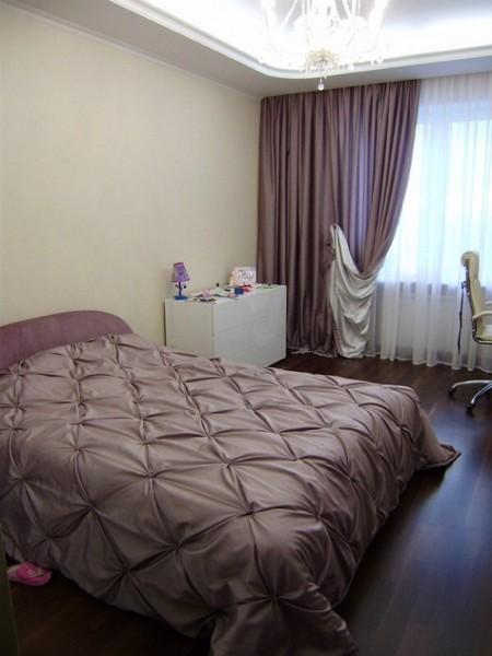 """Спальня без ламбрекена с покрывалом """"каретная стежка"""" 139"""