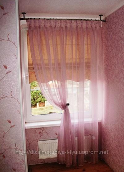 Римские шторы18 + штора фигурный