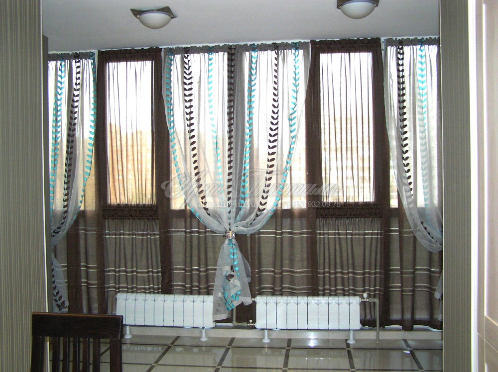 Шторы для лоджии, балкона.