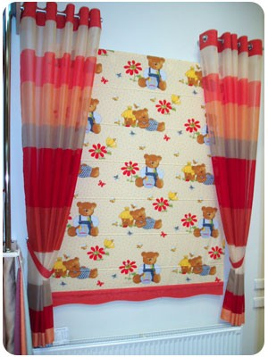 Римские шторы2 для детской