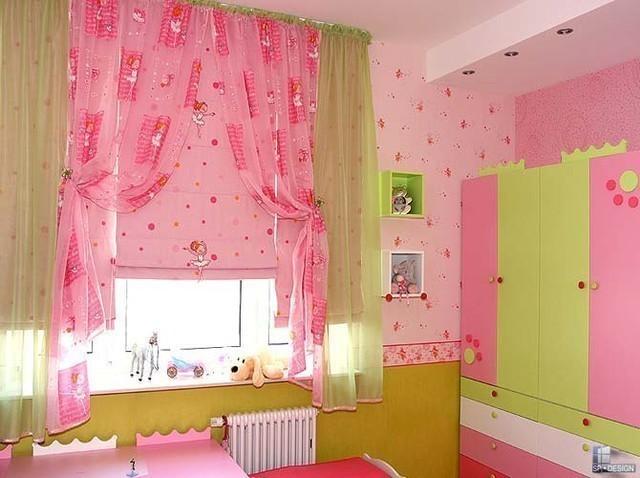 Римские шторы3 детская для девочки