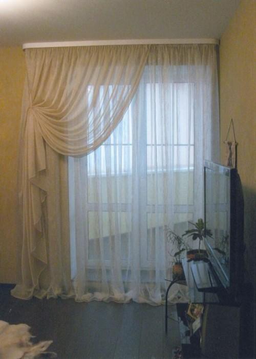Идеи штор для спальни.