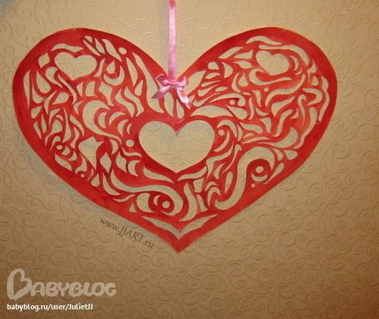 Картинки сердце своими руками