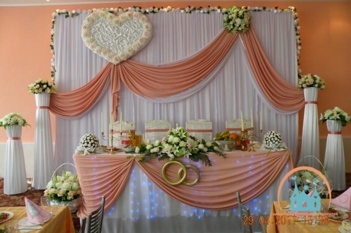 Как украсить свадебный зал своими руками видео
