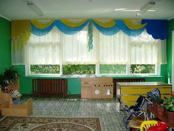 Занавески для детского сада